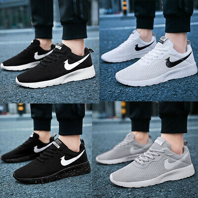 Mens Womens Air Running Trainers Fitness Mesh Sports Shoes Casual Pumps Sneakers