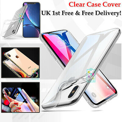 Case Cover for iPhone 6 8 7 Plus XR XS MAX ShockProof Soft Phone TPU Silicone UK
