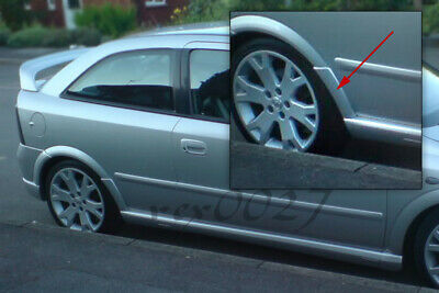 Vauxhall Opel Astra G MK4 GSI Rear Wheel Arch Spats