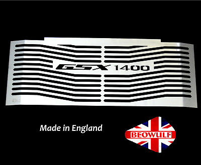 Suzuki GSX1400 (01-08) Stainless Steel Radiator Oil Cooler Guard Grill Cover