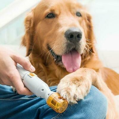 Electric Painless Pet Nail Clipper Dog Cat Paw Pets Nail Trimmer Grinder Tool