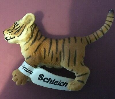 Schleich BABY BROWN TIGER CUB Animal Figure  NEW uk seller..