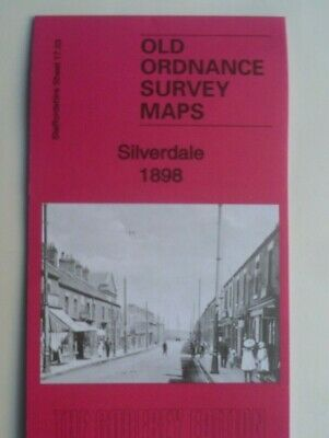 Old Ordnance Survey Maps The Delves  Staffordshire 1912 Godfrey Edition New