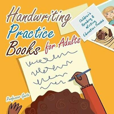 Handwriting Practice Books for Adults: Children's Reading & Writing Education...