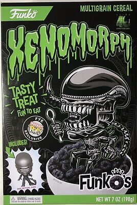 Funko Xenomorph Multigrain Cereal Alien 40th Anniversary W/ Pocket Pop Exclusive