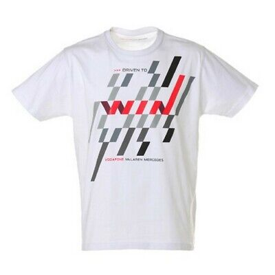 T-SHIRT Formula One 1 Vodafone McLaren Mercedes Button F1 NEW! 2012 Driven XXL