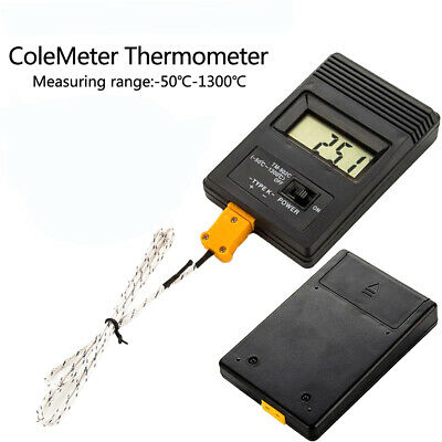 TM-902C Type K Digital LCD Thermometer -50°C to 1300°C + Thermocouple Sensor