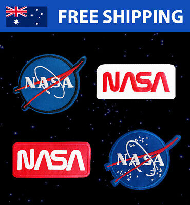 NASA Space Embroidered Patches - Embroidery Patch Gift