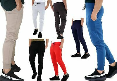 Kids Boys Girls Joggers Jogging Pants Trackie Bottom Fleece Casual Trouser 2-14Y