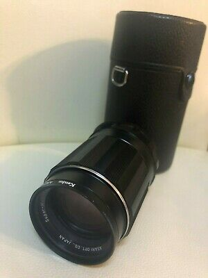 [Exc+5]Asahi Pentax Super Takumar 135mm F/3.5 MF Lens For M42 w/Case From JAPAN
