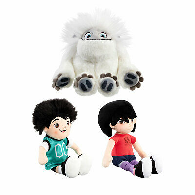 DreamWorks Abominable 18cm Plush Soft Toys *Choose Your Favourite*