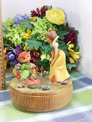 Reuge Snow White Music box Musical Anri Italy