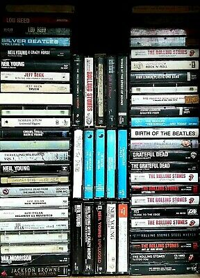 80's & 90's  Pop / Rock Cassettes - Lot 88 Cassettes Tapes - Used