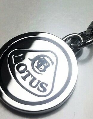 KEYRING 1948 Lotus Cars Originals NEW! Solid Stainless Steel Keychain Sportscar