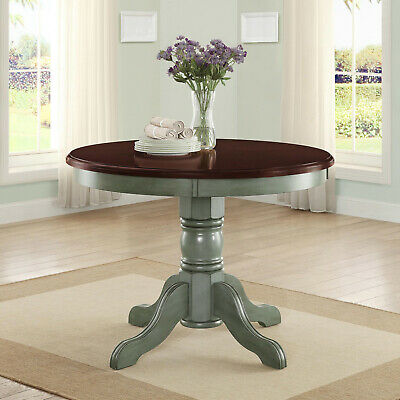 Dining Table Better Homes and Gardens Cambridge Place Antique Sage Wood