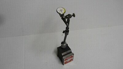Starrett 660 Base Indicator Holder With Triple-Jointed Arm