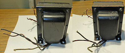 1 Pair - GENERAL TRANSFORMER Power Transformers - from Wurlitzer - 18453