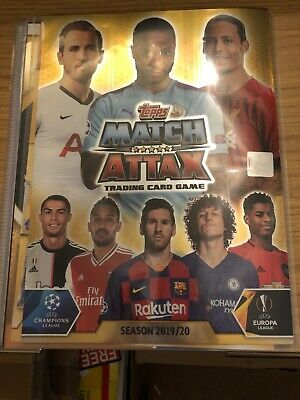 Match Attax 2019/20 Full Set Of All 331 Cards In Binder Mint
