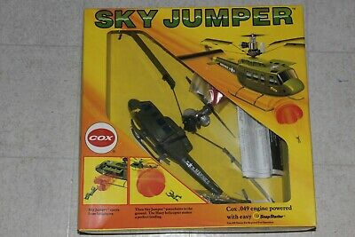 VINTAGE COX  049 Sky Jumper Helicopter Bell Huey Marines #4800