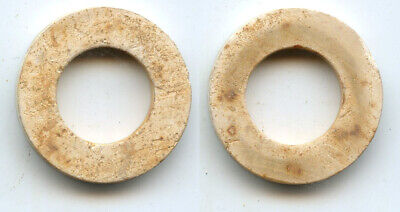 100% authentic late jade bi (ring), Western Han dynasty (206 BC - 9 AD), China