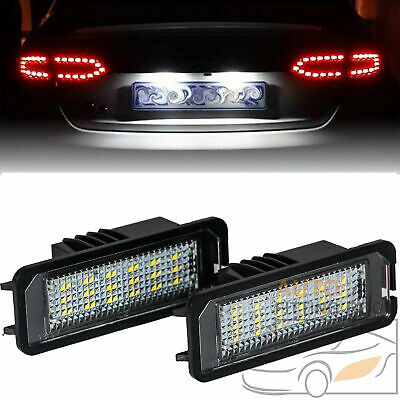 Error Free LED Number License Plate Light For Porsche Cayenne Cayman Boxster 911