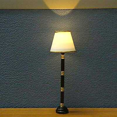 Dollhouse Miniature LED Light Floor Lamp Battery Operated SALE Switch With I7S7