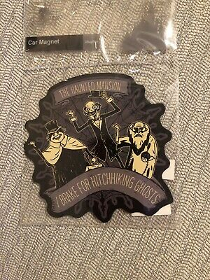 Disney Parks Haunted Mansion 50th Anniversary Hitchhiking Ghosts Car Magnet 5""