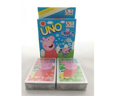 BRAND NEW Peppa Pig UNO Card Game - Full set with Instructions