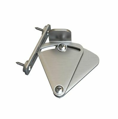 Barn Door Lock Stainless Steel For Sliding Barn Door Black & Satin Nickel Color