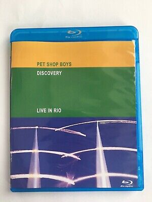 Pet Shop Boys Discovery (Live in Rio)  Blu-ray Disc New