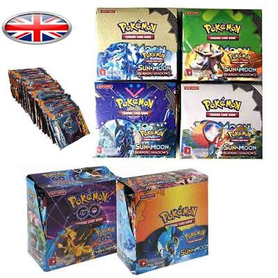 UK NEW 324pcs Pokemon TCG Booster Box English Edition Break Point 36 packs cards