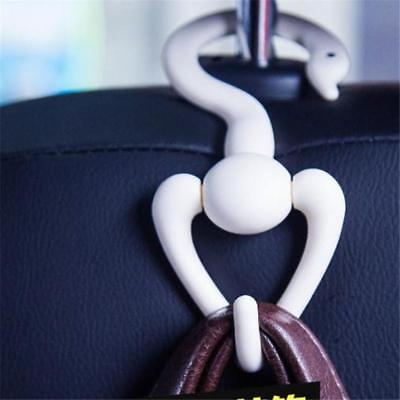 Car Seat Back Headrest Hook Holder Hanger Fit For Bag Purse Clothes C