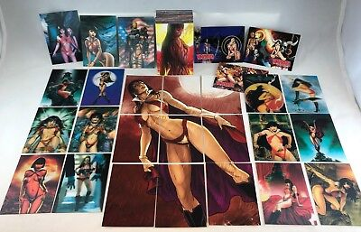 VAMPIRELLA Series 2 (BREYGENT/2012) Complete Base Card Set w/ ALL 27 CHASE CARDS