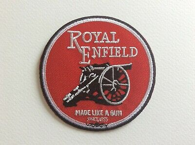 A139 // Ecusson Patch Aufnaher Toppa / Neuf / Royal Enfield / 8 Cm