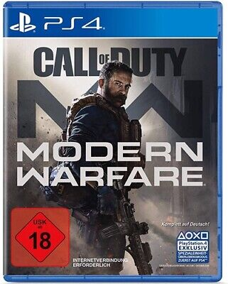 Call of Duty Modern Warfare / PS4 / Neu & OVP / Release: 25.10.2019