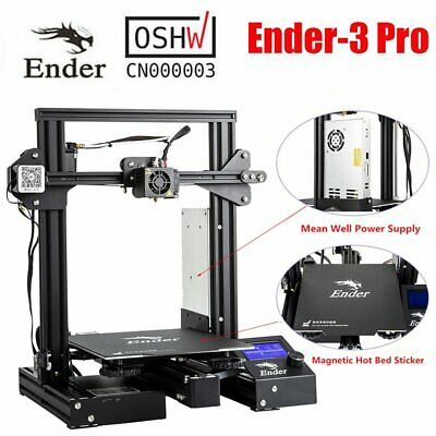 Newest Creality Ender 3 Pro 3D Printer 220X220X250mm Thermal Runaway dW