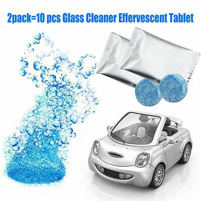 10X Professional Solid Glass Cleaner Effervescent Tablet For Car Window Cleaning