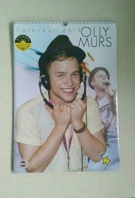 2013  Olly Murs  Unofficial Tribute Wall Calendar  30 X 42Cm New And Sealed.