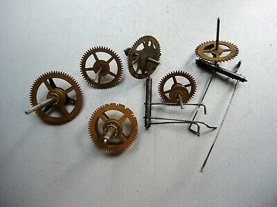 ANTIQUE German Wall Clock PARTS gears JUNGHANS A06 MOVEMENT Gustav Becker GB h