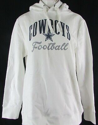Dallas Cowboys NFL Women's White Pullover Hoodie
