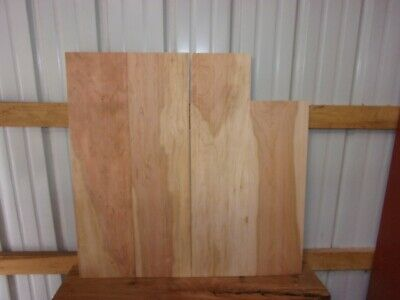"""4 Pc Cherry Boards Wood Lumber Kiln Dried 1/2"""" Thick Lot 18T End Matched Clear"""