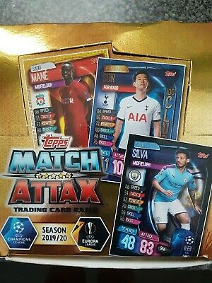 Match Attax 2019/20 Pick Your Man Of The Match/Legend/Centurion/Hat Trick Mint