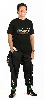 T-SHIRT Formula One 1 Sahara Force India FTF F1 schwarz DE