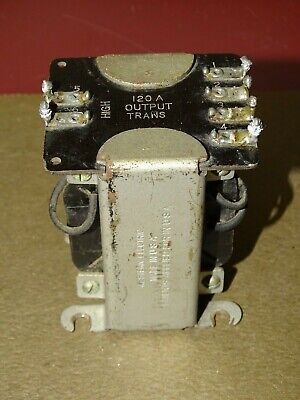 Western Electric Type 120A Output Transformer, for 8B and 17B Tube Amplifiers
