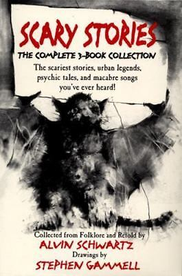 Scary Stories Boxed Set by Schwartz, Alvin