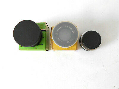 3- Enlarging Lens Vivitar 75mm 1:3.5 & 105mm 1:4.5 & Printz 75mm 1:3.5