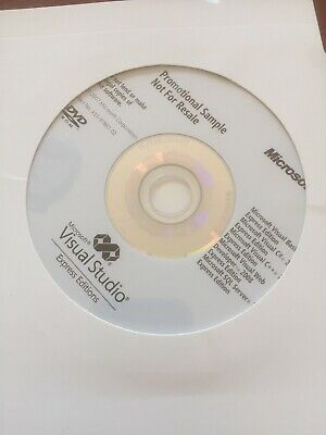 Microsoft� Visual Basic� 2008 Express Edition: CD ... Used