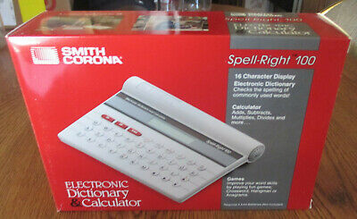 SMITH CORONA SD 265 Typewrirter with Spell Right Dictionary