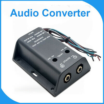 NEW STINGER HI Low Speaker Line Level Converter For Factory