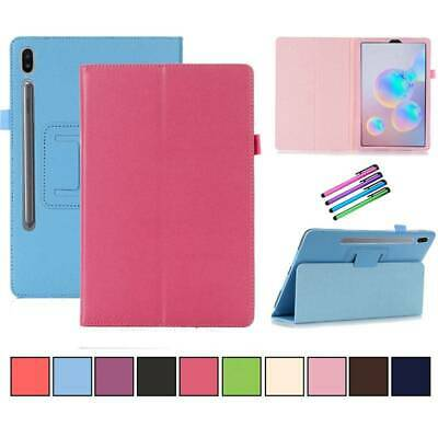 """Folio Leather Stand Case Cover for Samsung Galaxy Tab S6 10.5"""" T860 T865 Tablet"""